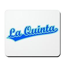Retro La Quinta (Blue) Mousepad