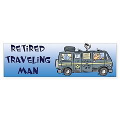 Retired Masons Bumper Bumper Sticker