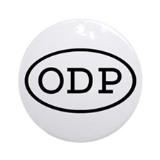 ODP Oval Ornament (Round)