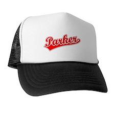 Retro Parker (Red) Trucker Hat
