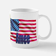 Amee Personalized USA Flag Mug