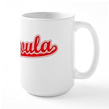 Retro Pascagoula (Red) Mug