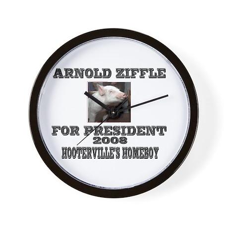 Arnold Ziffle Hootervilles homeboy Wall Clock