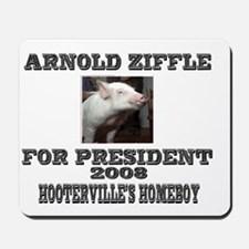 Arnold Ziffle Hootervilles homeboy Mousepad