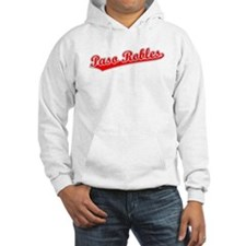 Retro Paso Robles (Red) Hoodie