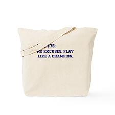 Rule 76 Tote Bag