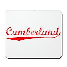 Vintage Cumberland (Red) Mousepad