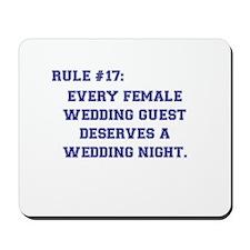 Rule 17 Mousepad