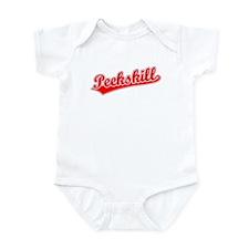 Retro Peekskill (Red) Infant Bodysuit