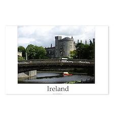 Cute Kilkenny ireland Postcards (Package of 8)