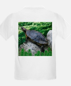 Turtle T-Shirt for Kids (back image only)