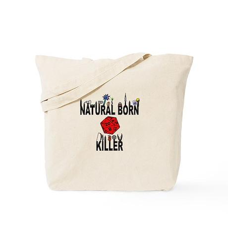 Natural Born Killer D20 Tote Bag