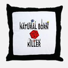 Natural Born Killer D20 Throw Pillow