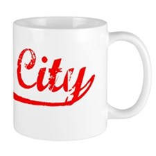 Vintage Daly City (Red) Mug