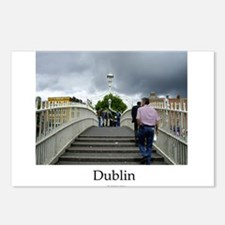 Half Penny Bridge, Dublin Postcards (Package of 8)