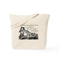 Porter Quote (Black) Tote Bag