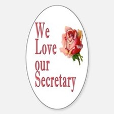 Show your appreciation on Secretary's Day Decal