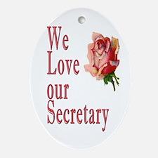 Show your appreciation on Secretary's Day Ornament