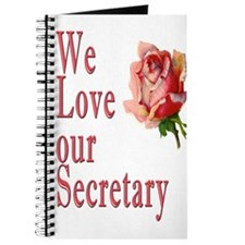Show your appreciation on Secretary's Day Journal