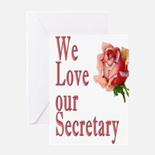 Show your appreciation on Secretary's Day Greeting