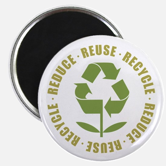 Reduce Reuse Recycle Magnet
