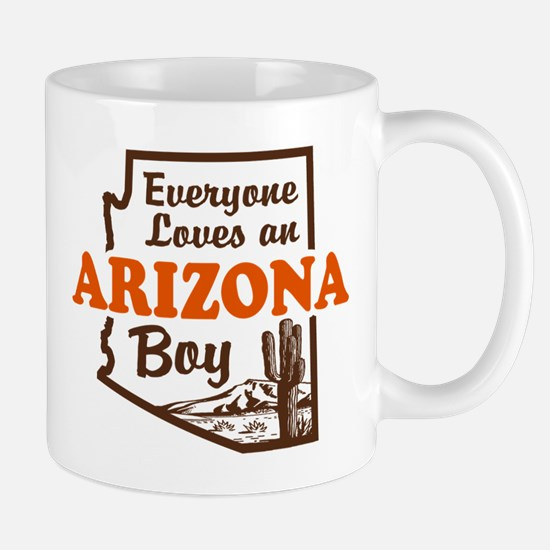 Everyone Loves an Arizona Boy Mug