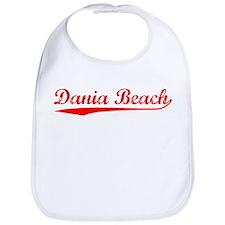 Vintage Dania Beach (Red) Bib