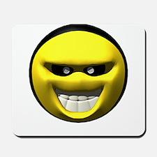 Evil Meanie Face Mousepad