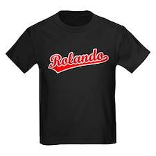 Retro Rolando (Red) T