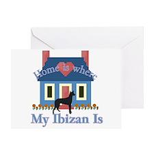 Ibizan Home Is Greeting Card