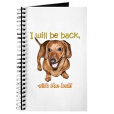 I Will Be Back Journal