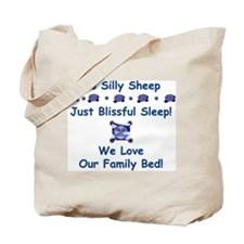 No Silly Sheep! Co-sleeping Advocacy Tote Bag