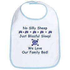 No Silly Sheep! Co-sleeping Advocacy Bib