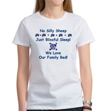 No Silly Sheep! Co-sleeping Advocacy Women's Tee