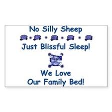 No Silly Sheep! Co-sleep Advocacy Sticker (Rec.)
