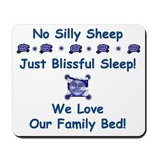 No Silly Sheep! Co-sleeping Advocacy Mousepad