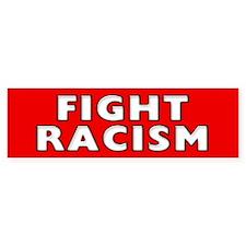 Racism Bumper Bumper Sticker