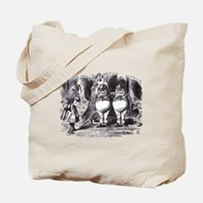 Tweedledee & Tweedledum Tote Bag