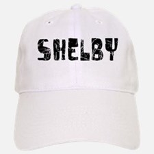 Shelby Faded (Black) Baseball Baseball Cap