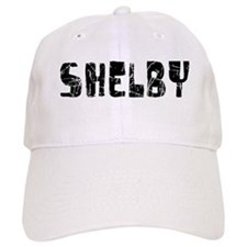 Shelby Faded (Black) Baseball Cap
