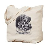 Alice and the Fawn Tote Bag