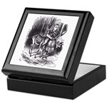 Alice and the Fawn Keepsake Box
