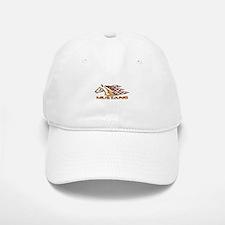 Mustang Tribal Baseball Baseball Cap