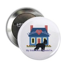 "Irish Water Spaniel 2.25"" Button (10 pack)"