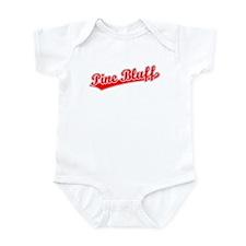 Retro Pine Bluff (Red) Infant Bodysuit