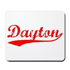 Vintage Dayton (Red) Mousepad
