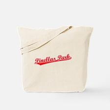 Retro Pinellas Park (Red) Tote Bag