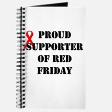 Proud Supporter of Red Friday Journal