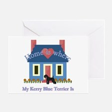 Kerry Blue Terrier Greeting Card