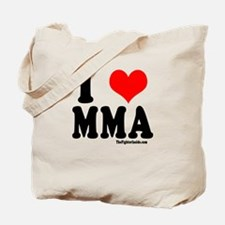 I Love MMA Tote Bag